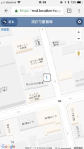 GPS結果(地図